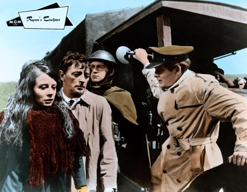 Sarah Miles, Robert Mitcham and Christopher Jones in Ryan's Daughter, 1970