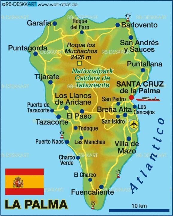 La Palma, Canary Island … | Travel in 2019…
