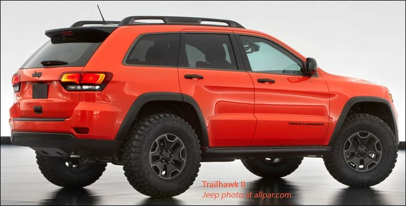 Jeep Grand Cherokee Trailhawk 2013 Moab Concept Jeep Grand