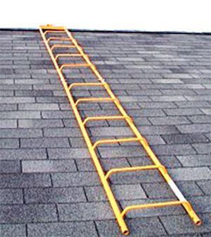How To Set A Ladder On A Pitched Roof