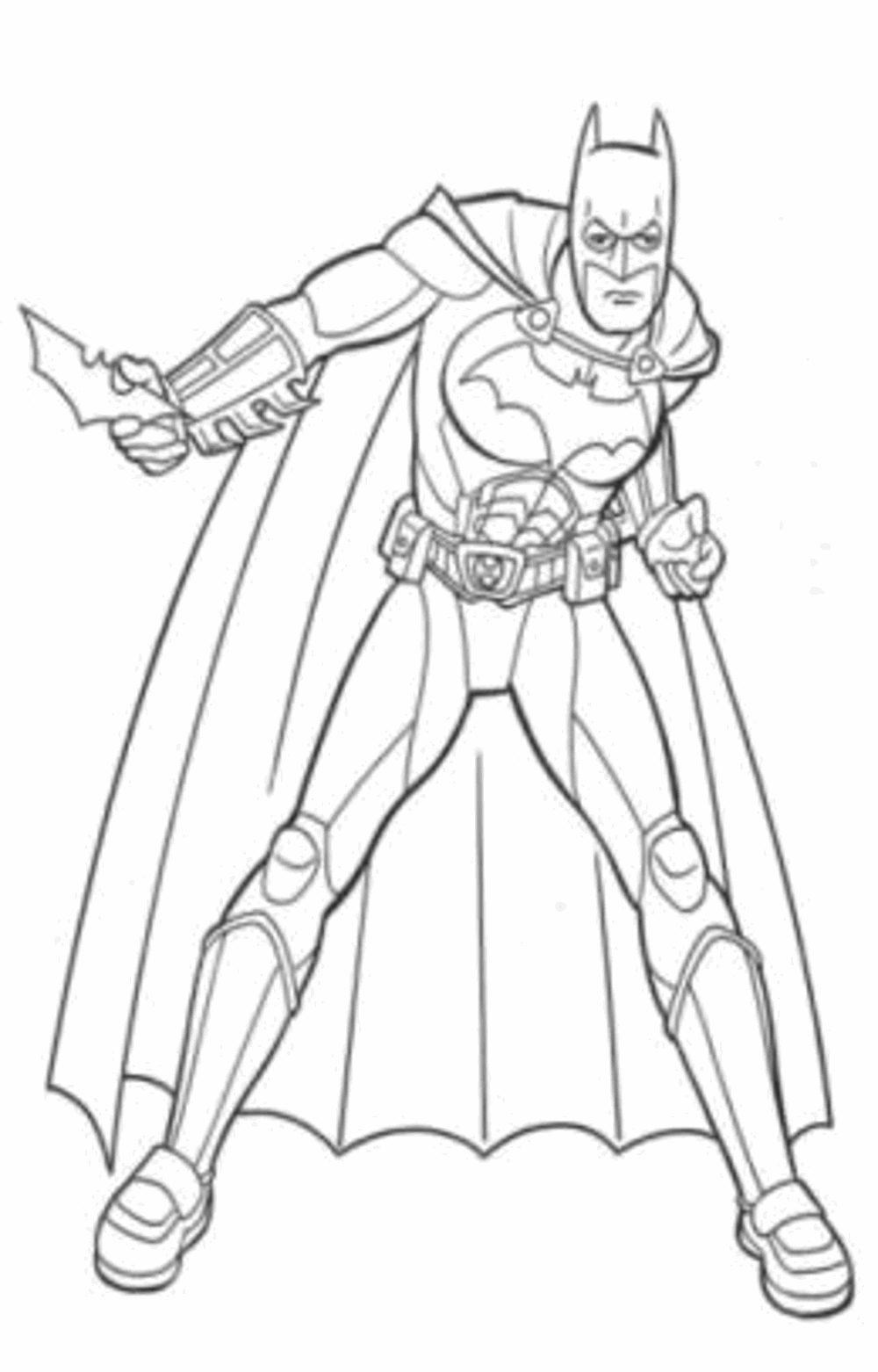 Batman colouring games | Gambar