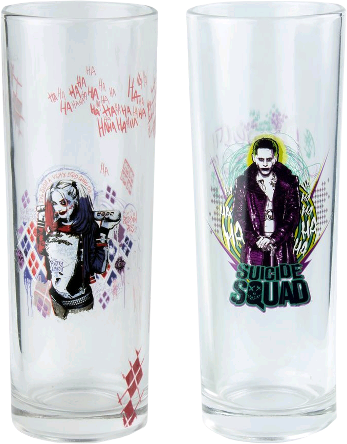 Joker and Harley Tumbler 2-Pack | Suicide Squad | Ikon Collectables | Popcultcha