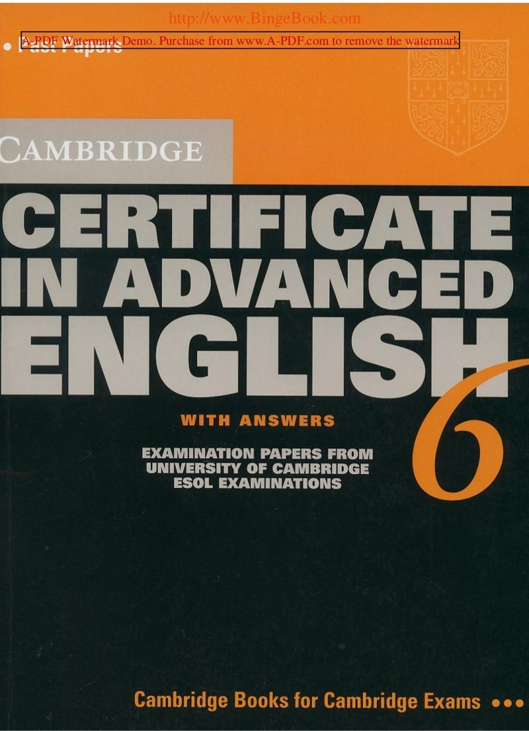 Cambridge Cae Libro Ingles Educacion Ingles Abecedario Inglés