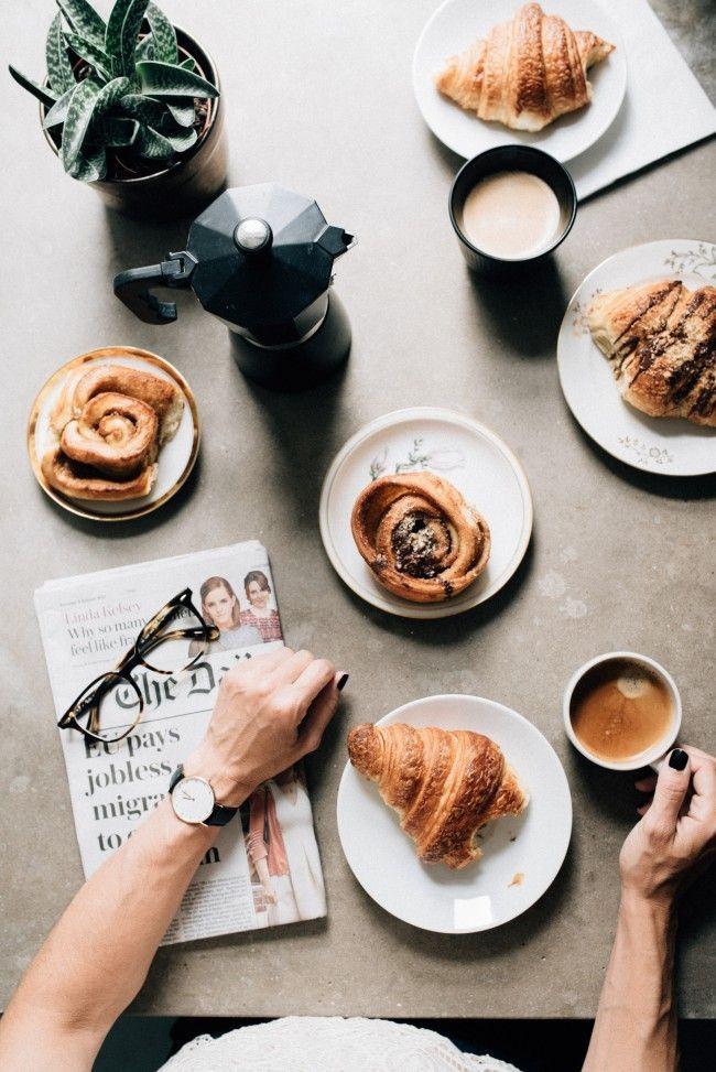 The Danish Breakfast Food Coffee Breakfast Eat