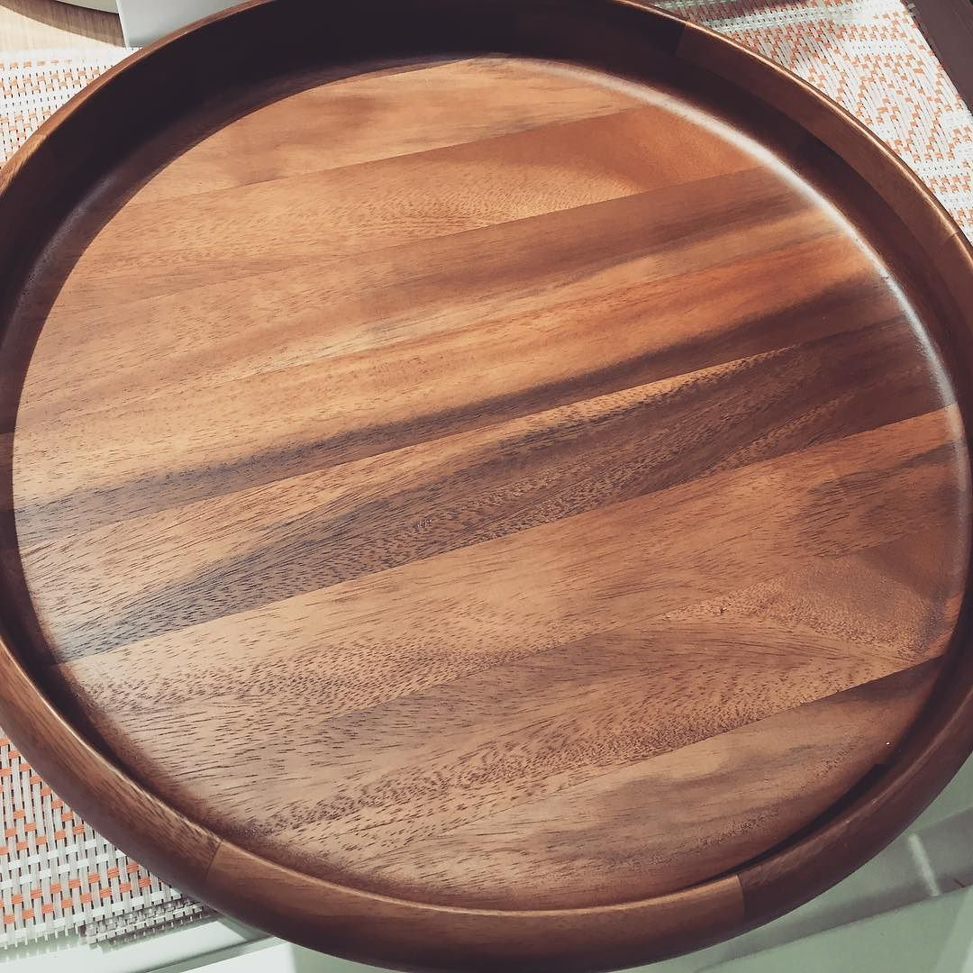 Beautiful wood tray from @Target! I would love to get this as a ...