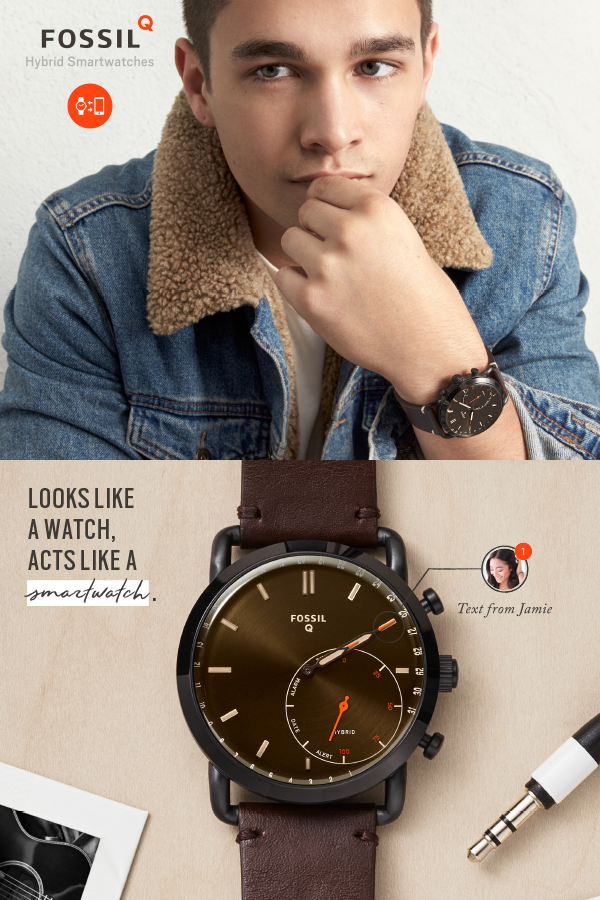 Looks Like A Watch But Acts Like A Smartwatch See What The New