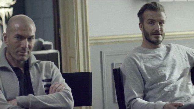 cos'e 'quella canzone adidas) con david beckham & zidane