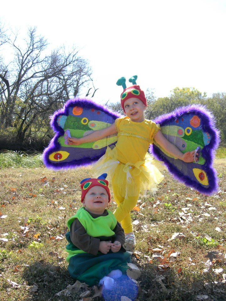 The Very Hungry Caterpillar And The Beautiful Butterfly -6509
