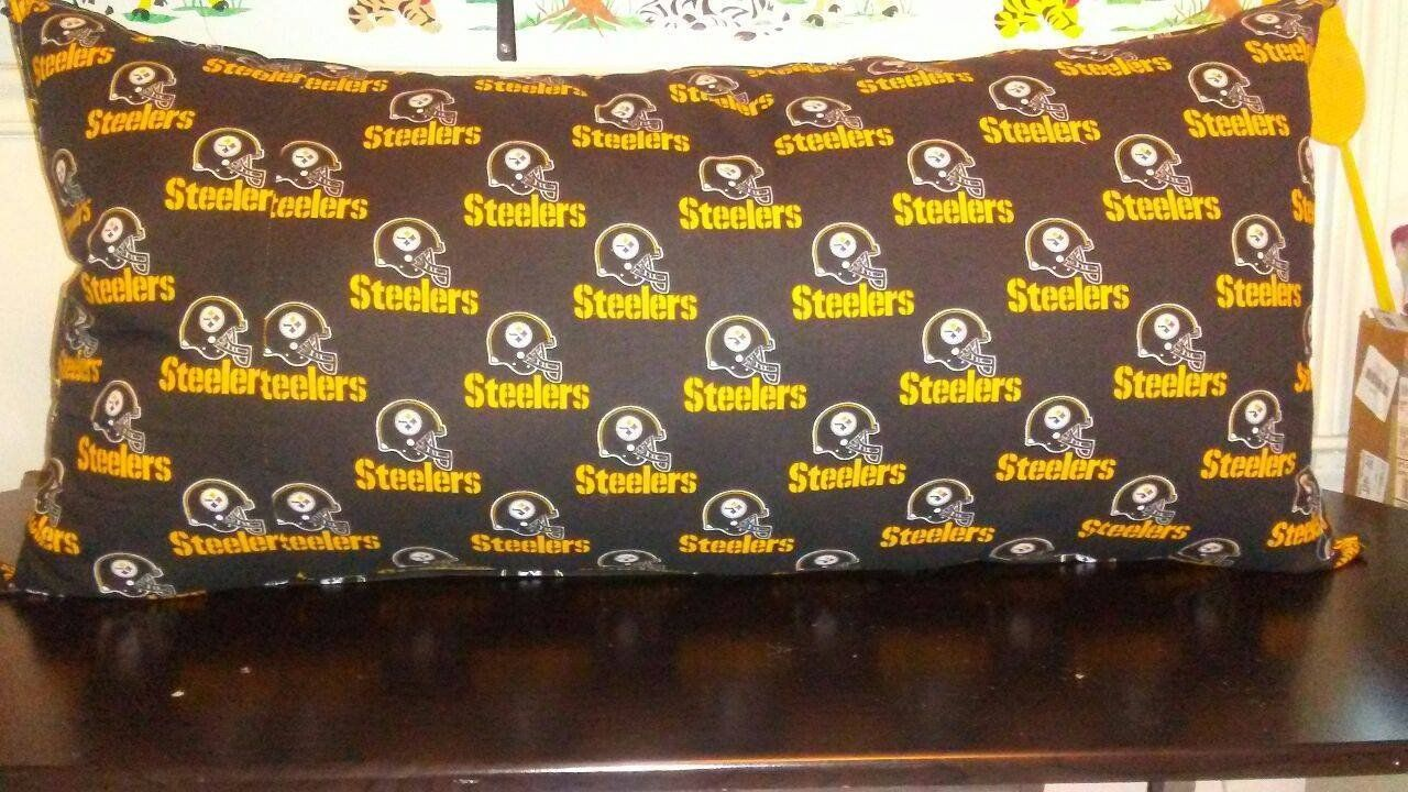 Set of (2) King size Steelers Deco Pillows in 2019