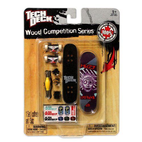BESTSELLER! Tech Deck Wood Competition Series - (    $3 99 | Finger