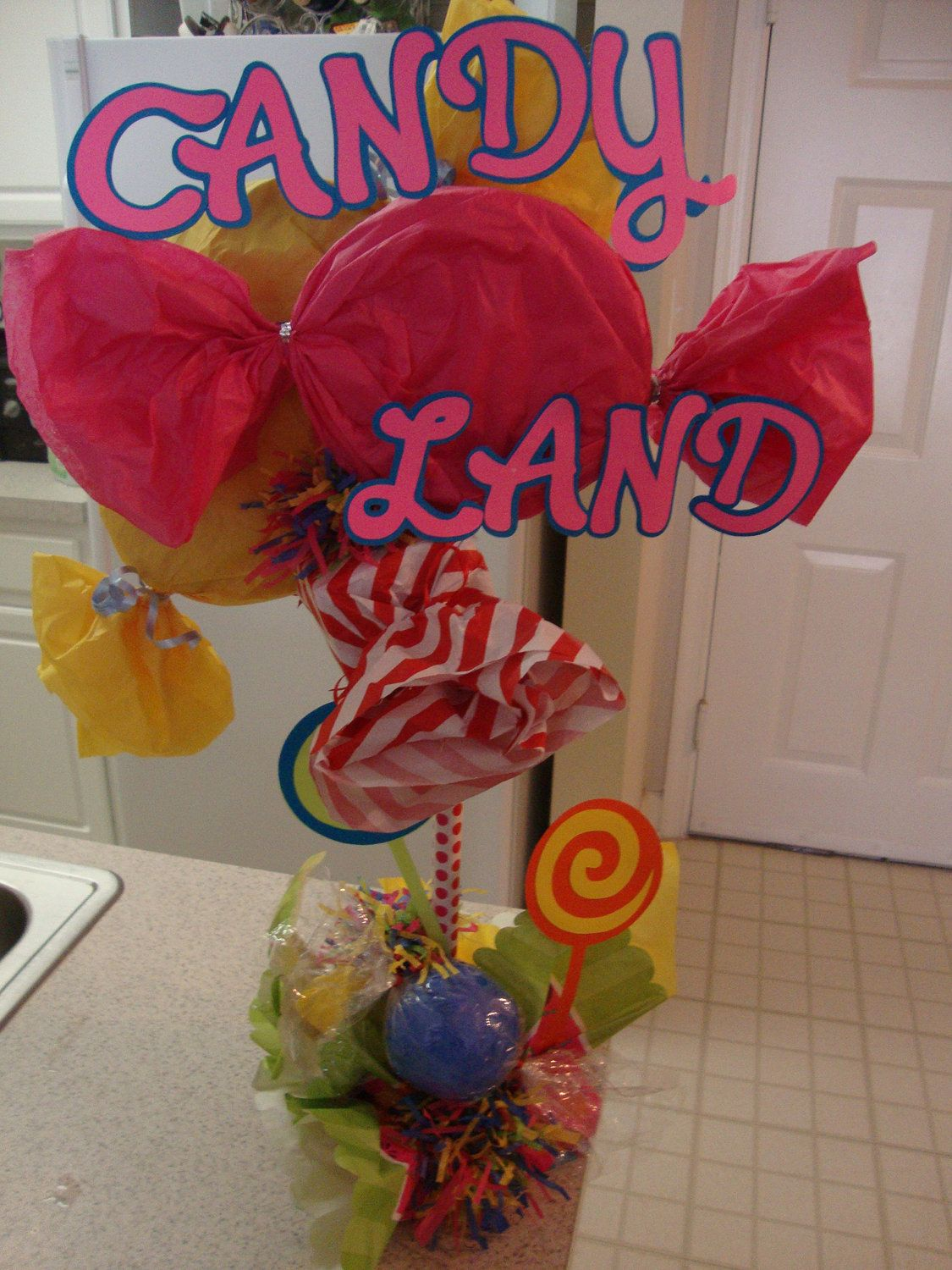 Candyland centerpiece by afavor u on etsy