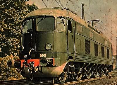 nederlandse locomotieven - Loc 1001