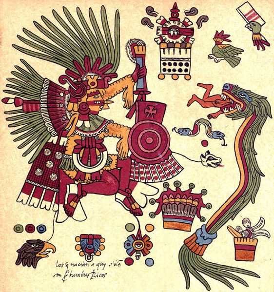 54c4833e480 Xipe Totec (Illustration) - Tlacaxipehualiztli of the spring. Shedding  skins and rebirthing season.