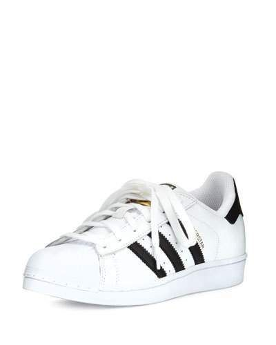 brand new d4c9b d535c adidas Superstar Classic Sneaker, BlackWhite Sneakers