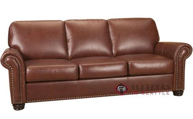 Savvy Calgary Leather Queen Sleeper Sofa Leather Sofa Bed Sofa Queen Size Sofa Bed