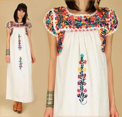 e8a50e1442 vestidos mexicanos de wanessa monteiro modelo san antonio