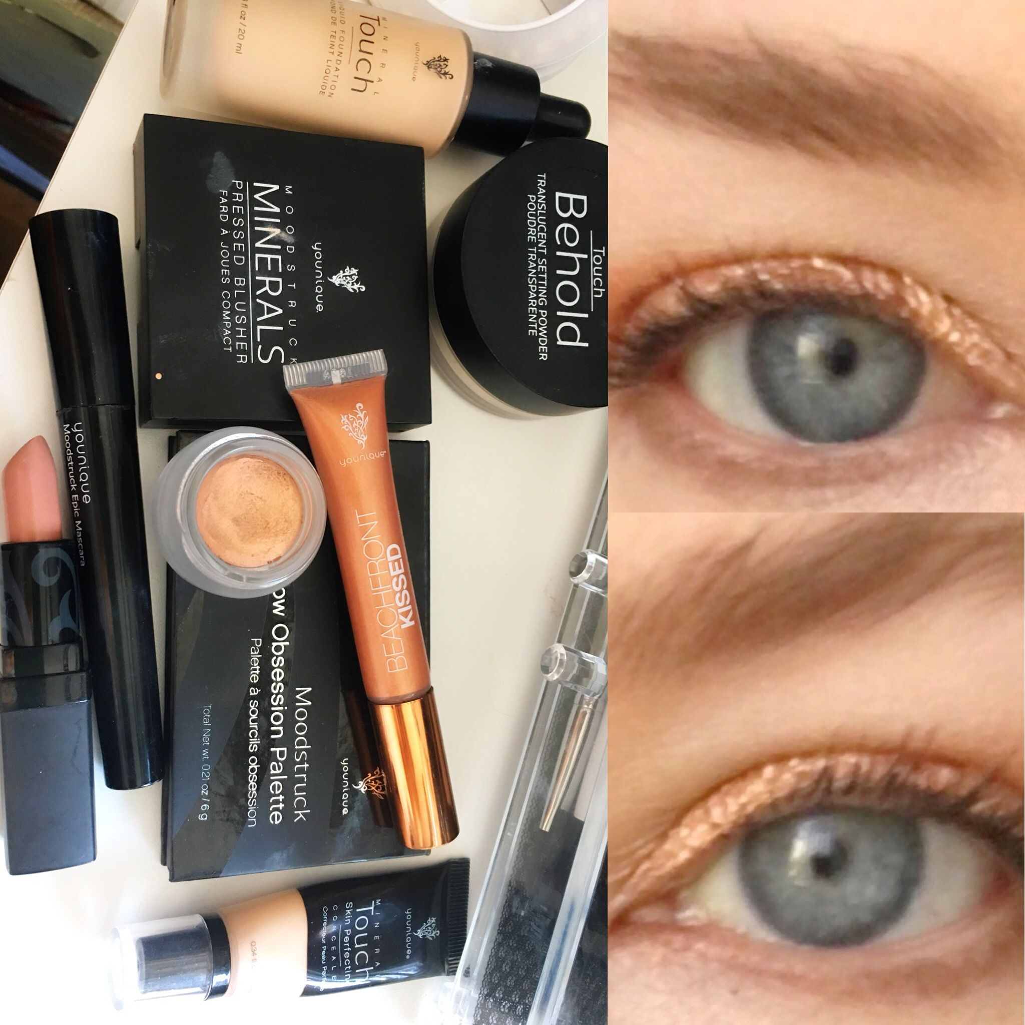 Rose Gold Dreams Younique products Glorious primer