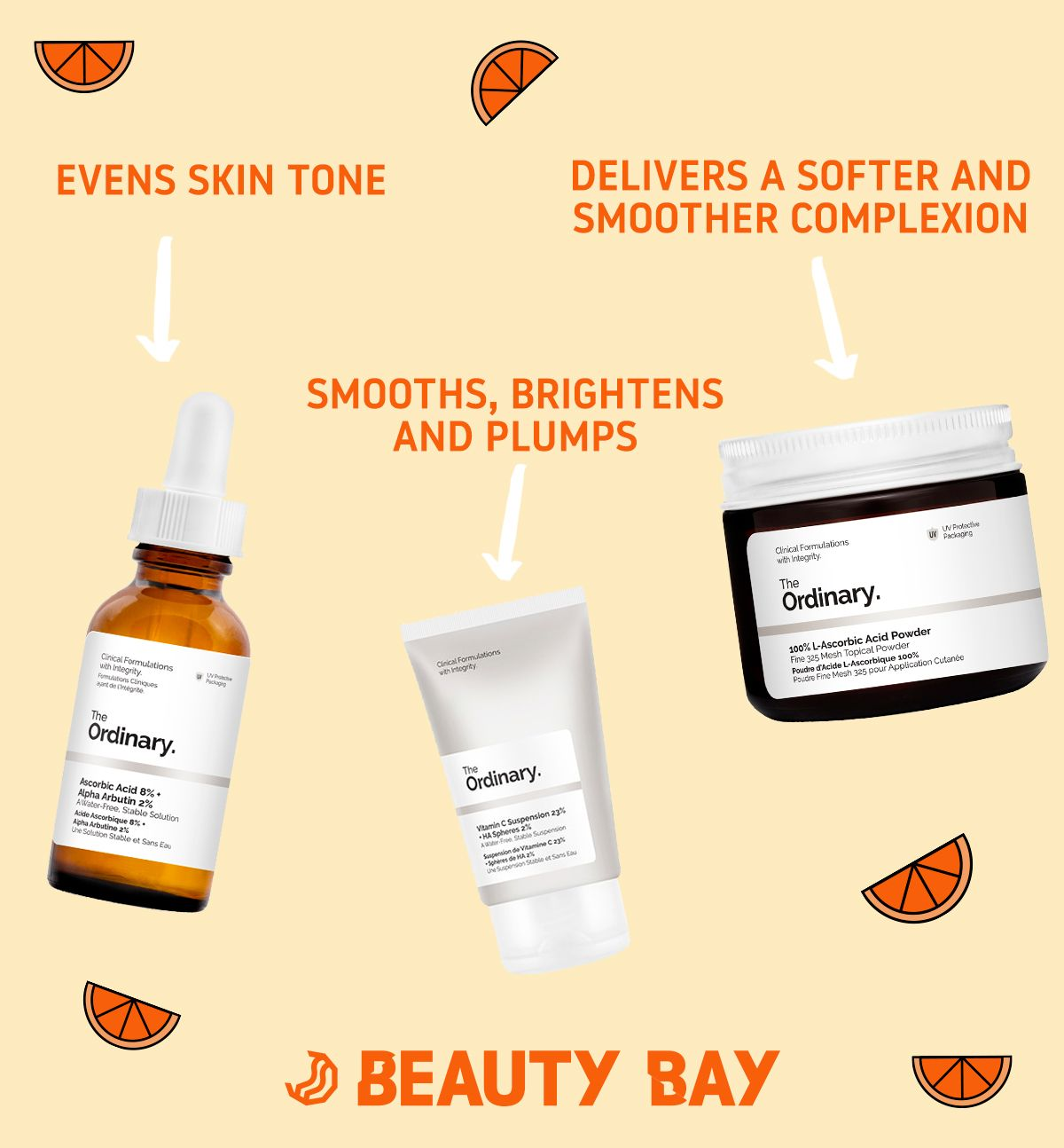We are obsessed with Vitamin C! Get the ingredient in our