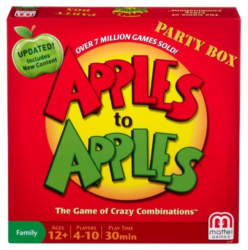 Apples To Apples Is An Award Winning Party Game That Will Have