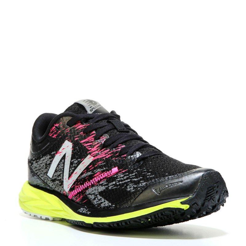 47e361363c58 New Balance Women s Strobe Running Shoes (Black Lime) - 7.0 M