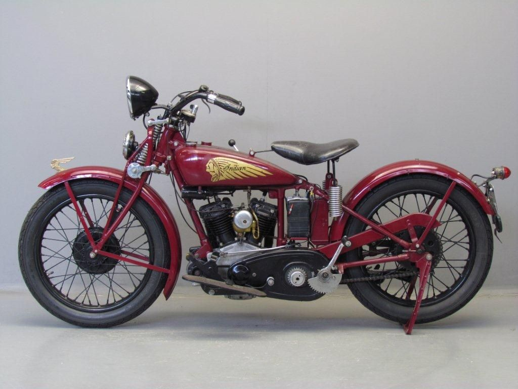 Indian 1935 Junior Scout 500cc Indian Motorcycle Indian Motors Motorcycle