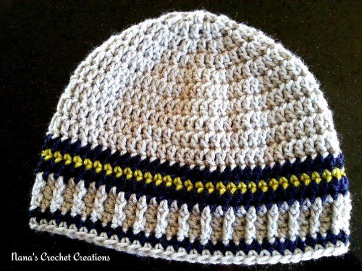 Crochet Men\'s Hat Free Patterns | Free crochet hat patterns, Free ...