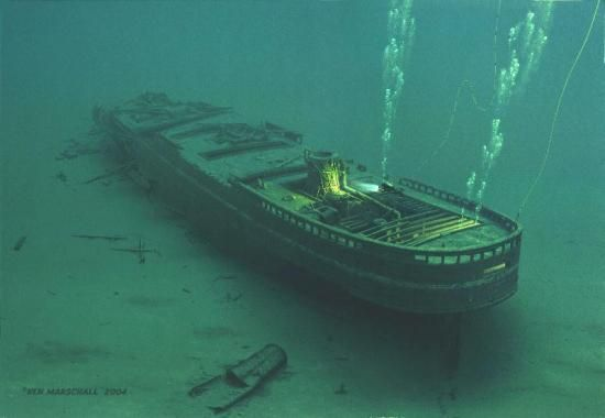 how to find a shipwreck