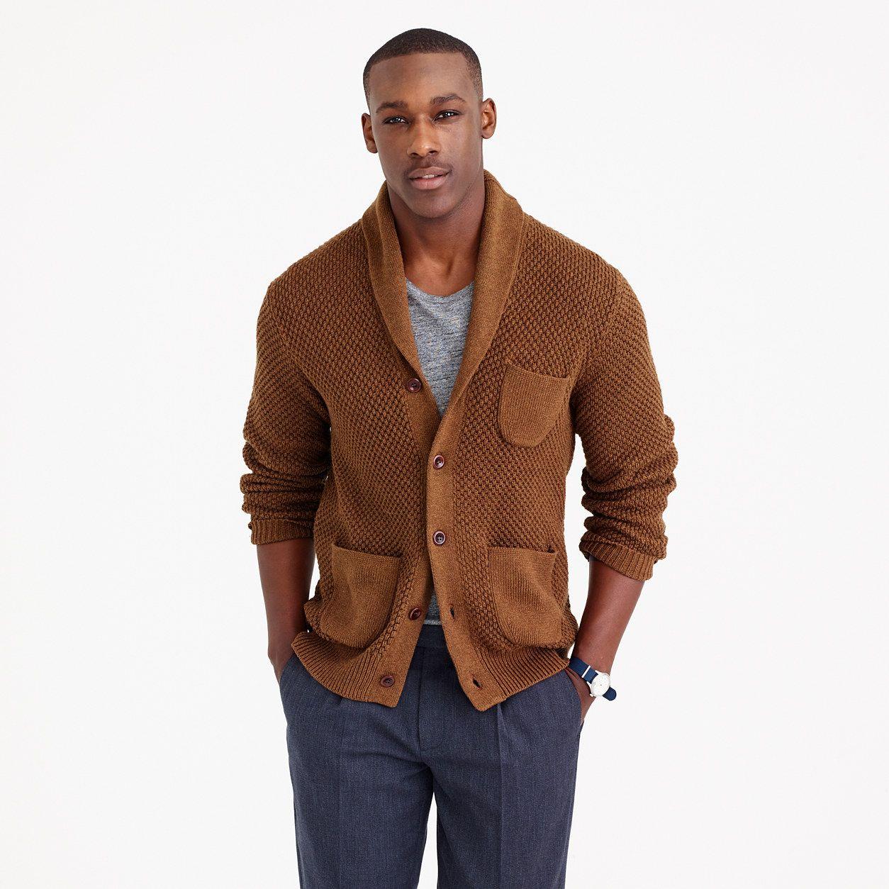 J Crew Cotton Textured-Stitch Cardigan   fall back spring ahead ...