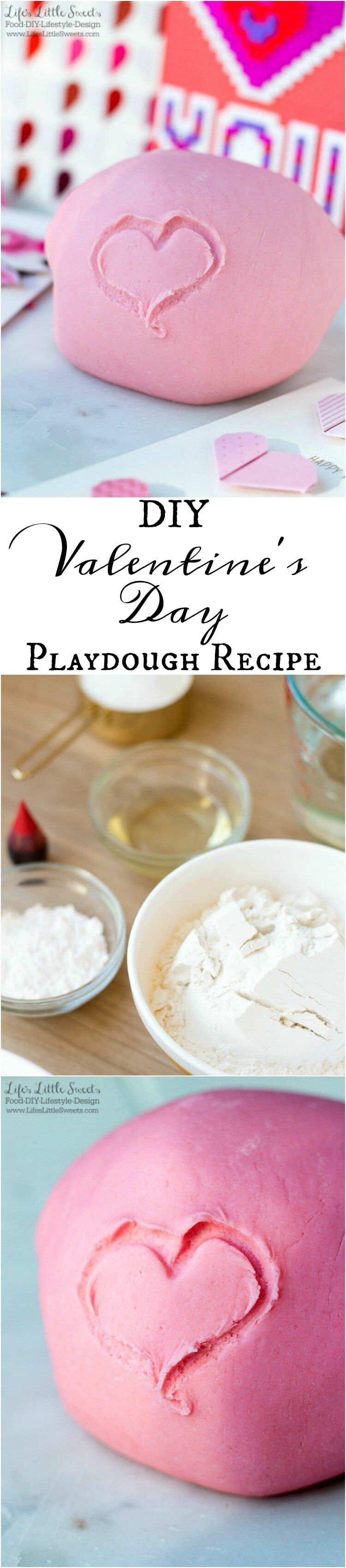 Diy valentines day playdough recipe recipe valentines