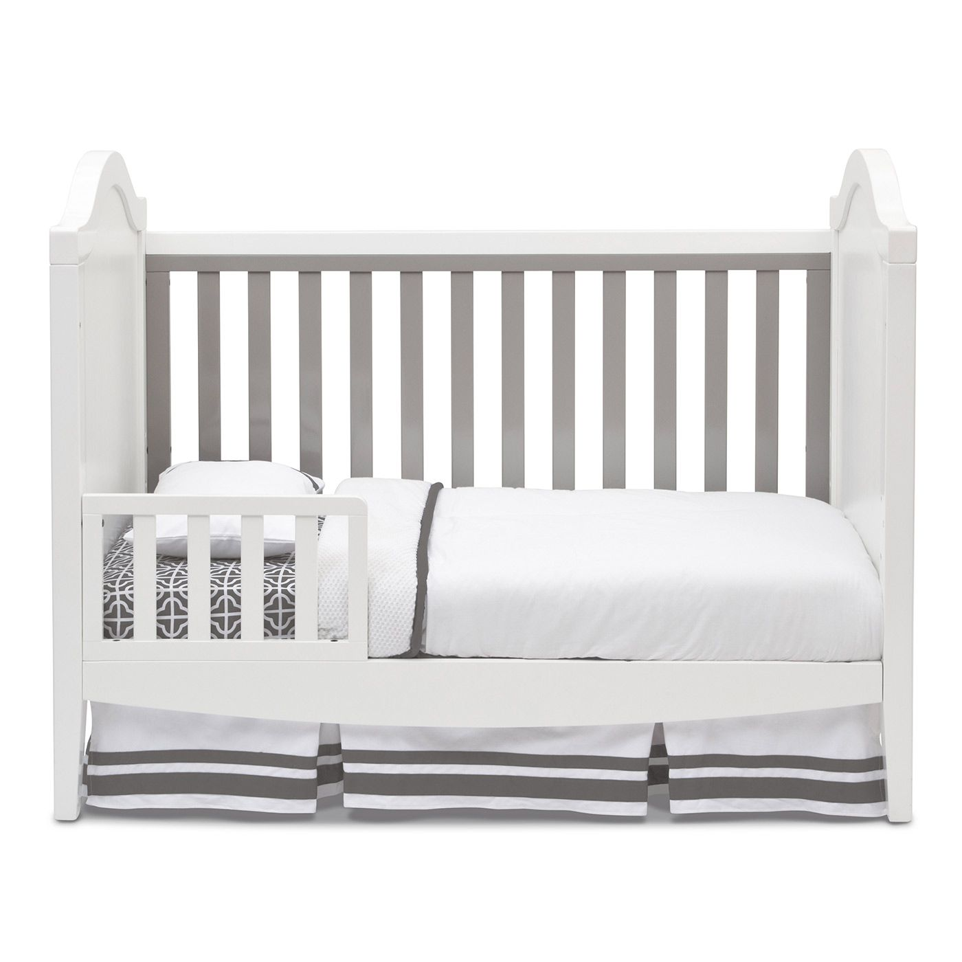 simmons hollywood 3 in 1 crib in white grey grey kid and hollywood