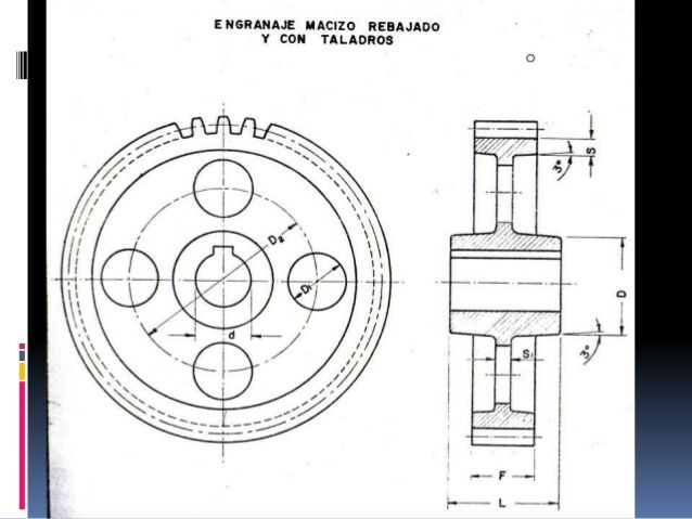 Resultado De Imagen Para Dibujo Tecnico Engranajes Diagram