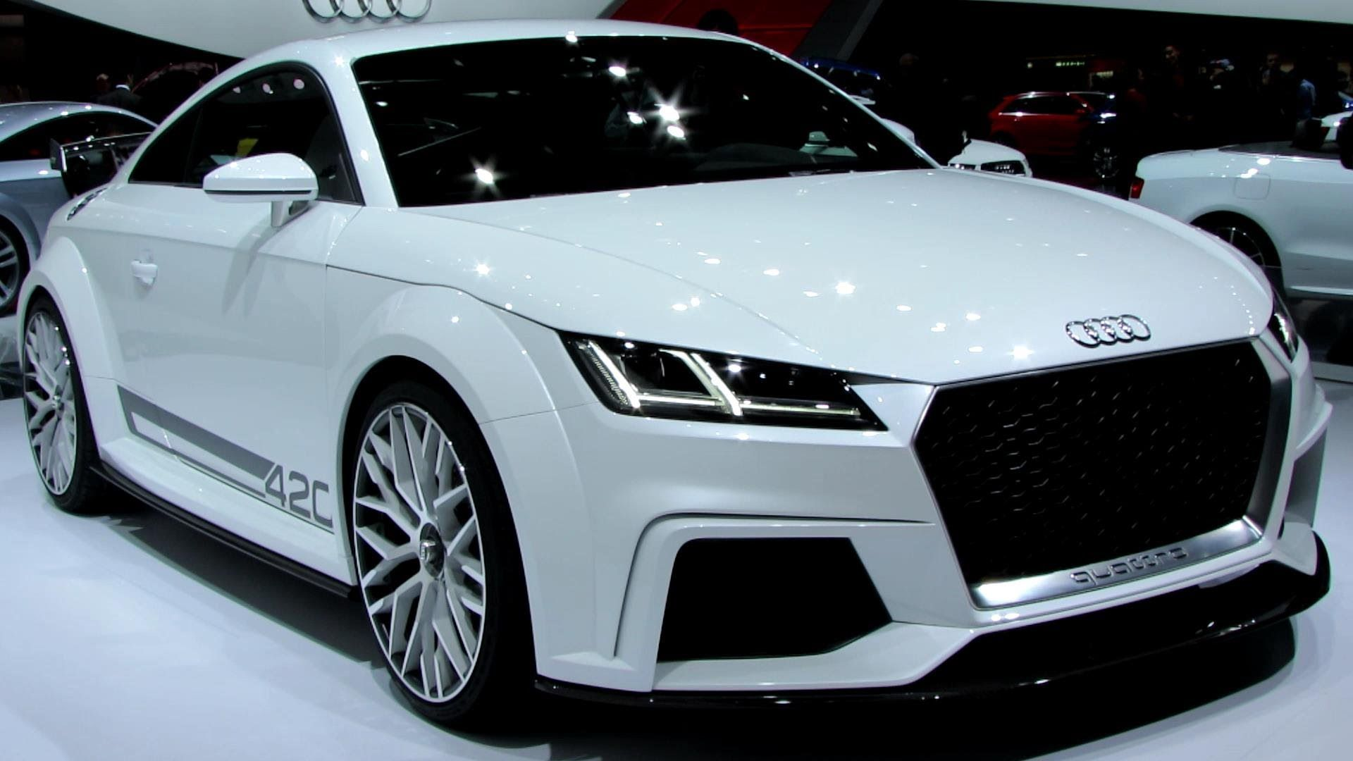Audi TT Quattro Sport Exterior And Interior Walkaround - Small sports cars 2015