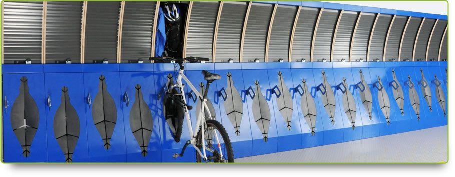 Secure Compact Bicycle Storage Rack Stand U0026 Locker: Some Sort Of Inside,  Secure Bike Storage  Bike Locker