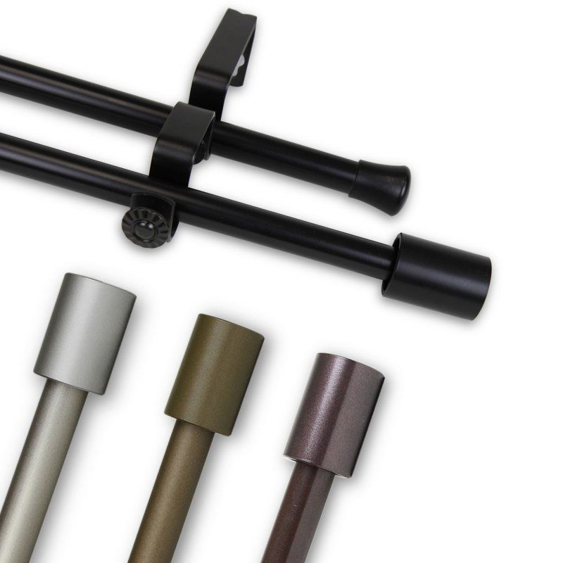 Rod Desyne Nora Double Curtain Rod 5715 847d Products