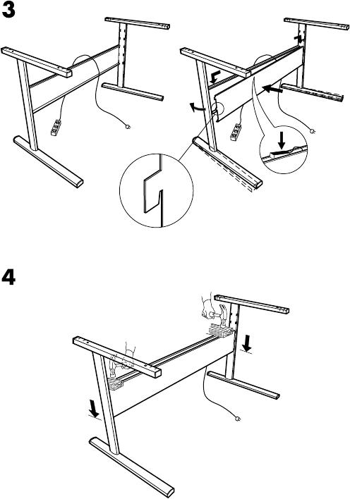 Image Result For Fredrik Ikea Desk Instructions Ikea Desk Instruction Ikea