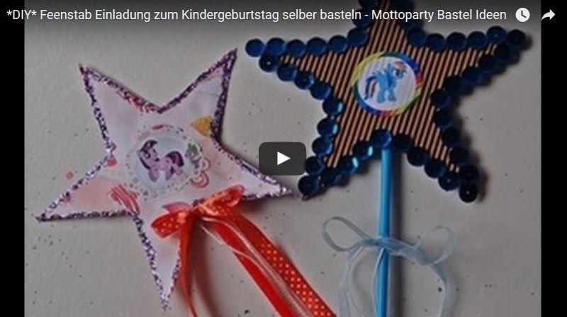 Tipps Und Ideen Für Eine Kindergeburtstag My Little Pony Mottoparty.  Kostenlose Einladungen, Bastelvorlagen,