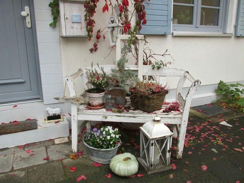 herbstdeko special garden items garten deko b nke. Black Bedroom Furniture Sets. Home Design Ideas