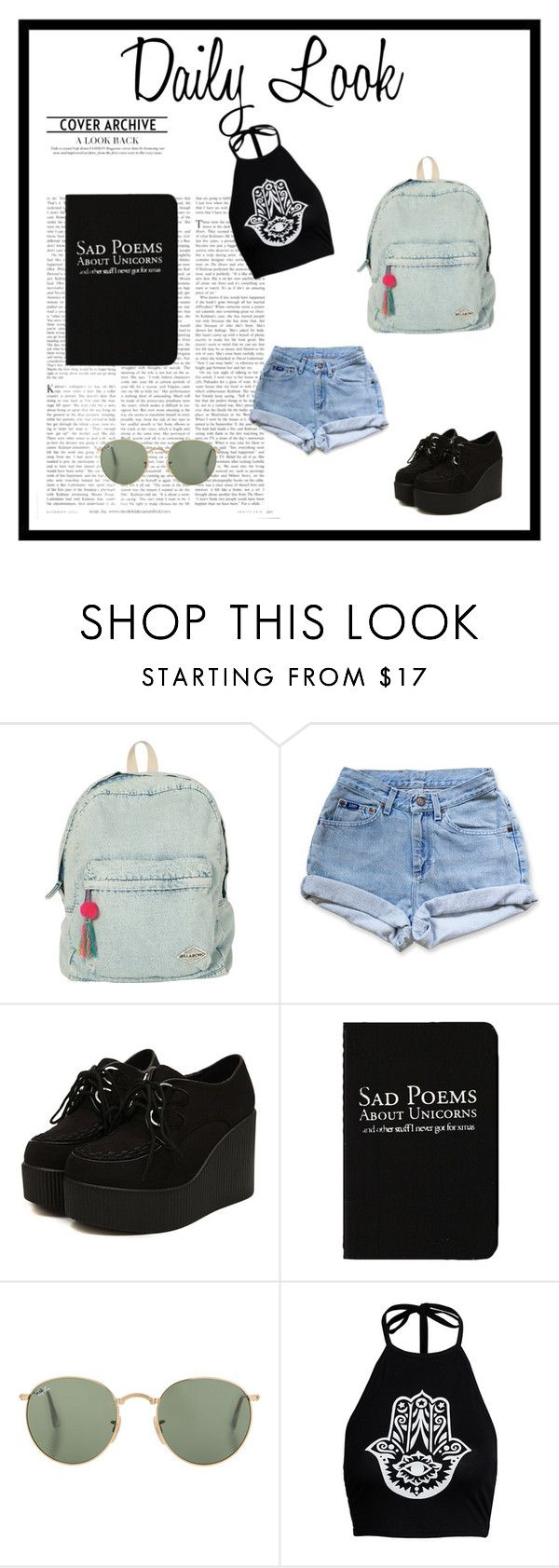 """""""DailyLook."""" by xxbebeautifulxx on Polyvore featuring Mode, Billabong und Rich and Damned"""