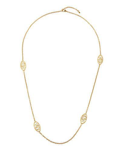 Roberto Coin 18k Single-Strand Necklace w/ Diamond Jf28uSoyi5