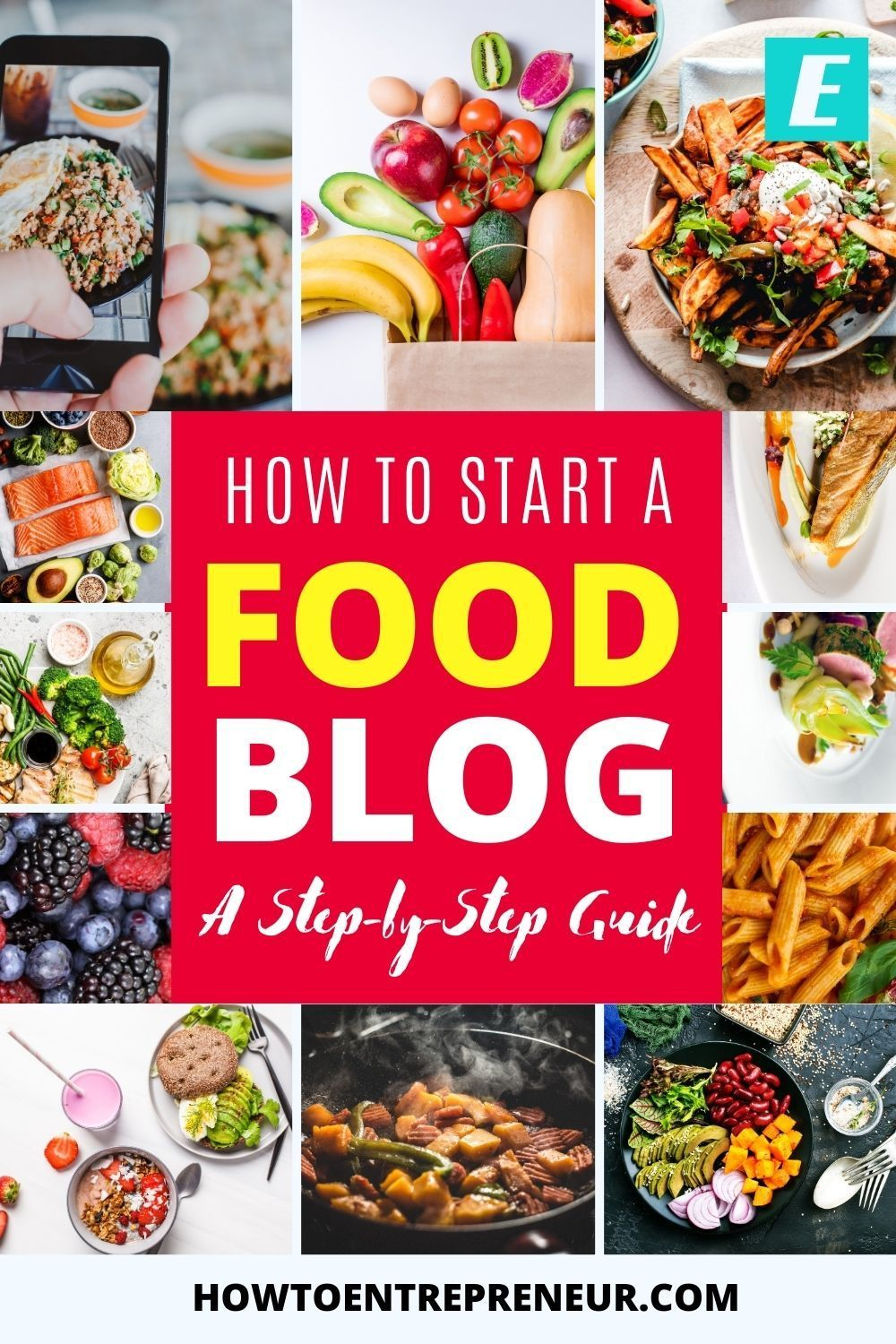 How To Start A Food Blog 2020 A Step By Step Guide Start Food Blog Food Blog A Food