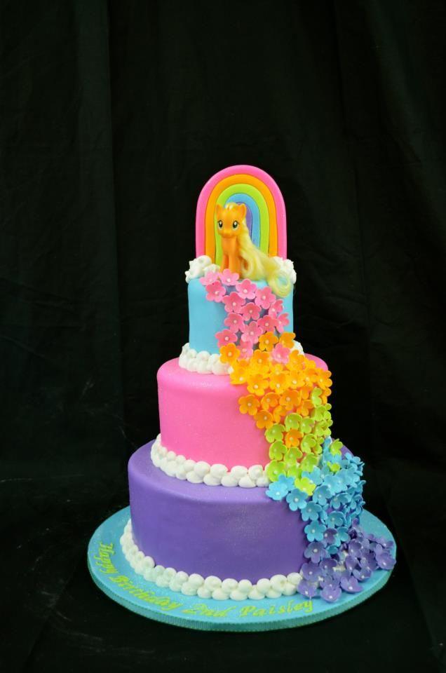 Southern Blue Celebrations Over 20 My Little Pony Cake