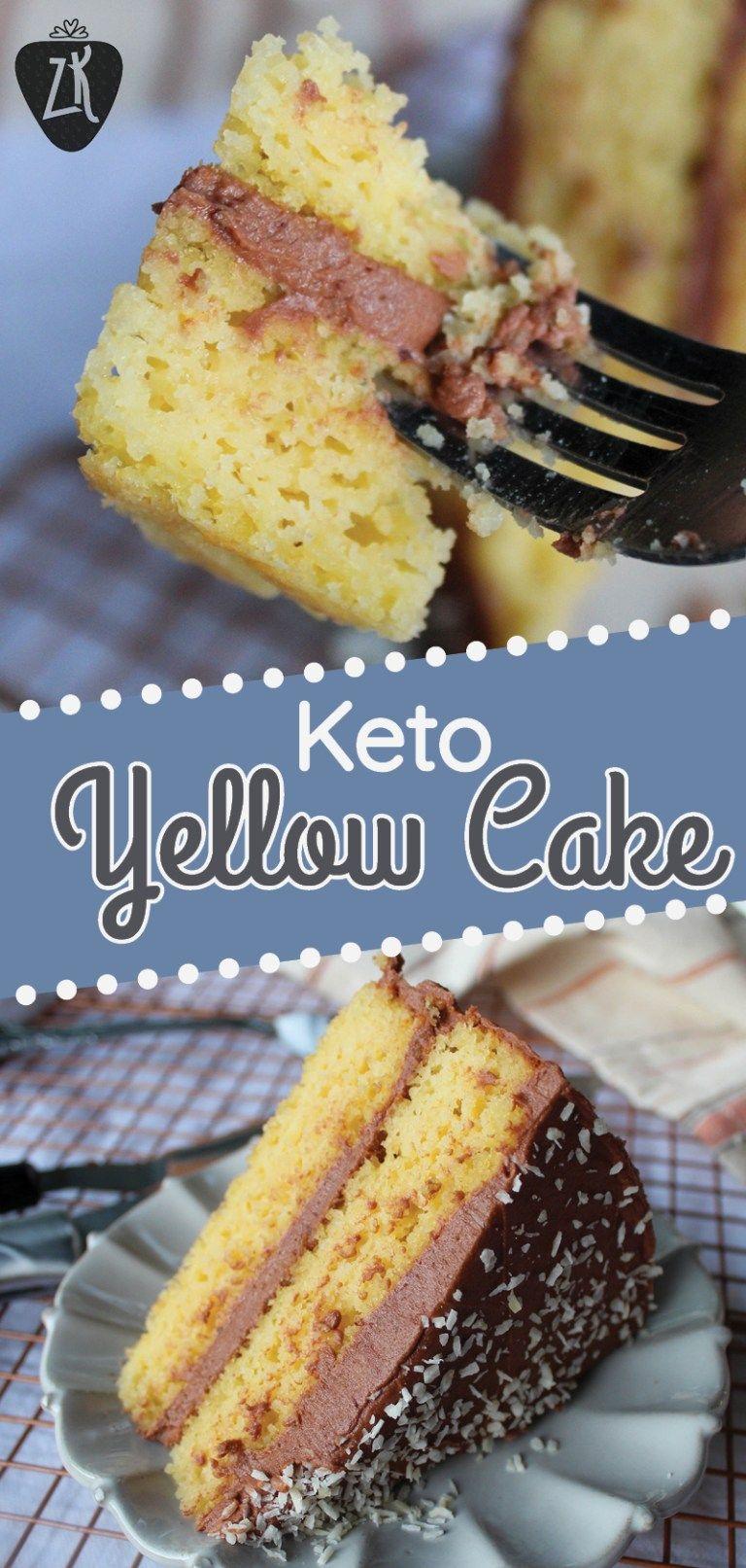Best Keto Yellow Cake Birthday Worthy Liv Breathe Keto