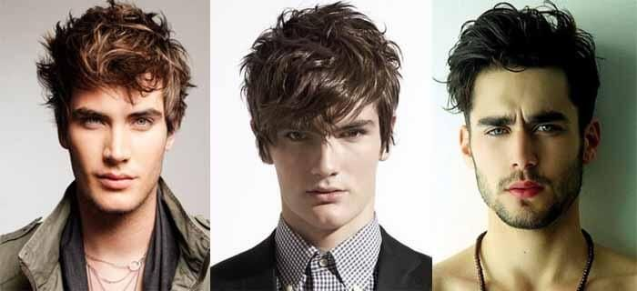 Hairstyle For Slim And Tall Boy Messy Beautiful Hair Hairstyle Tall Boys