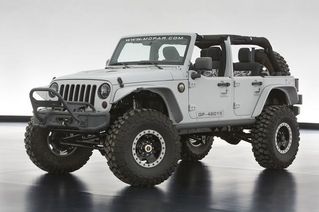 2013 Jeep Wrangler Mopar Recon Concept Easter Jeep Safari Jeep Cars Jeep Concept