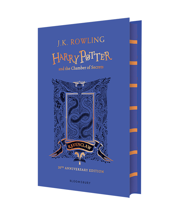 Harry Potter Harry Potter And The Chamber Of Secrets Ravenclaw Edition House Editions Ravenclaw Rowling Harry Potter Harry Potter Ravenclaw Ravenclaw