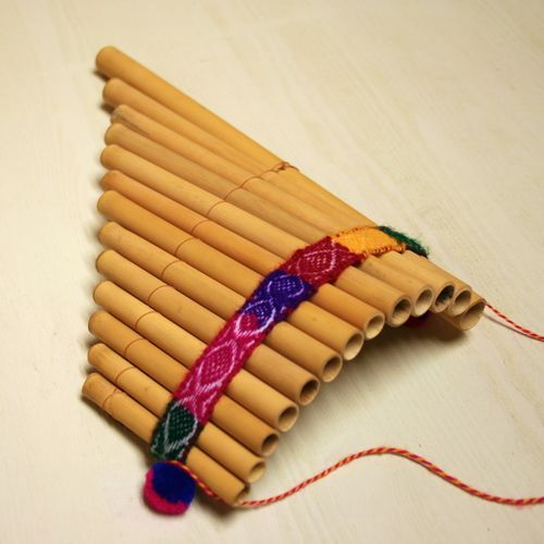 how to make a pan flute out of bamboo