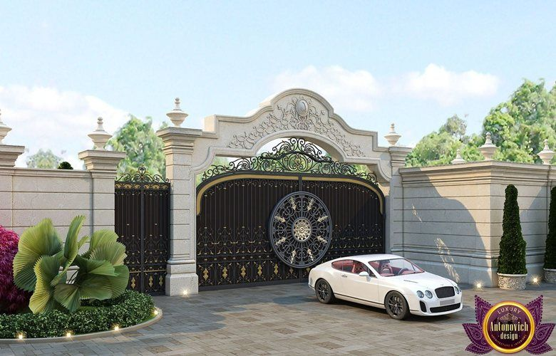 Royal Villas Design Of Katrina Antonovich Katrina Antonovich House Gate Design Villa Design Luxury Exterior