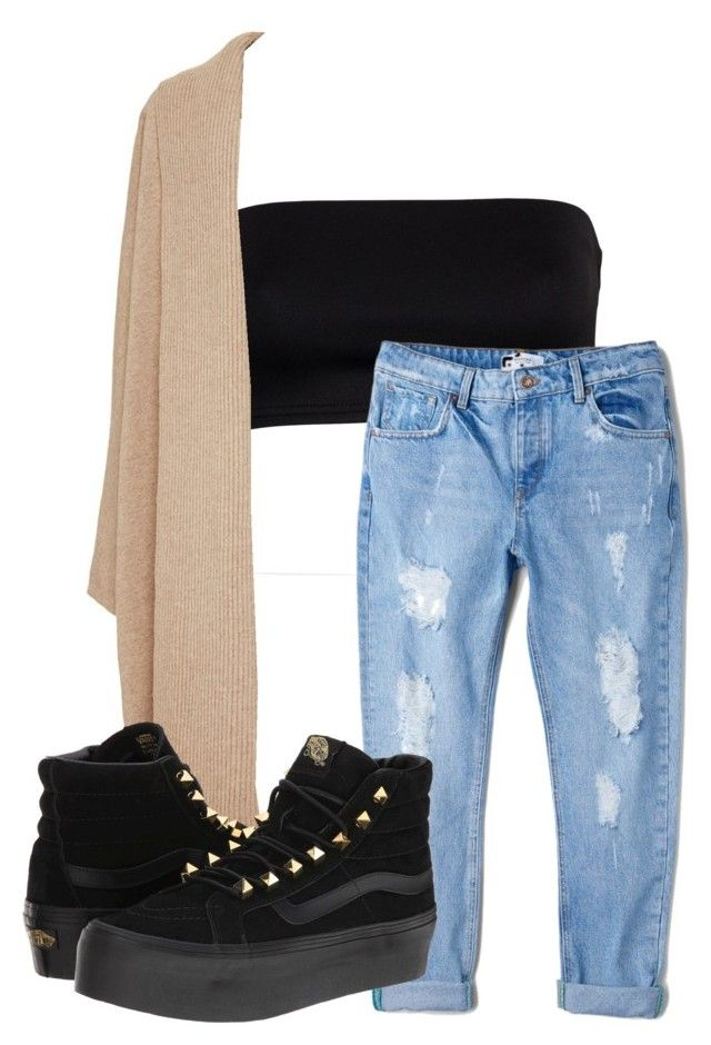 """Unbenannt #149"" by aysel-s ❤ liked on Polyvore featuring MANGO, Rosetta Getty and Vans"