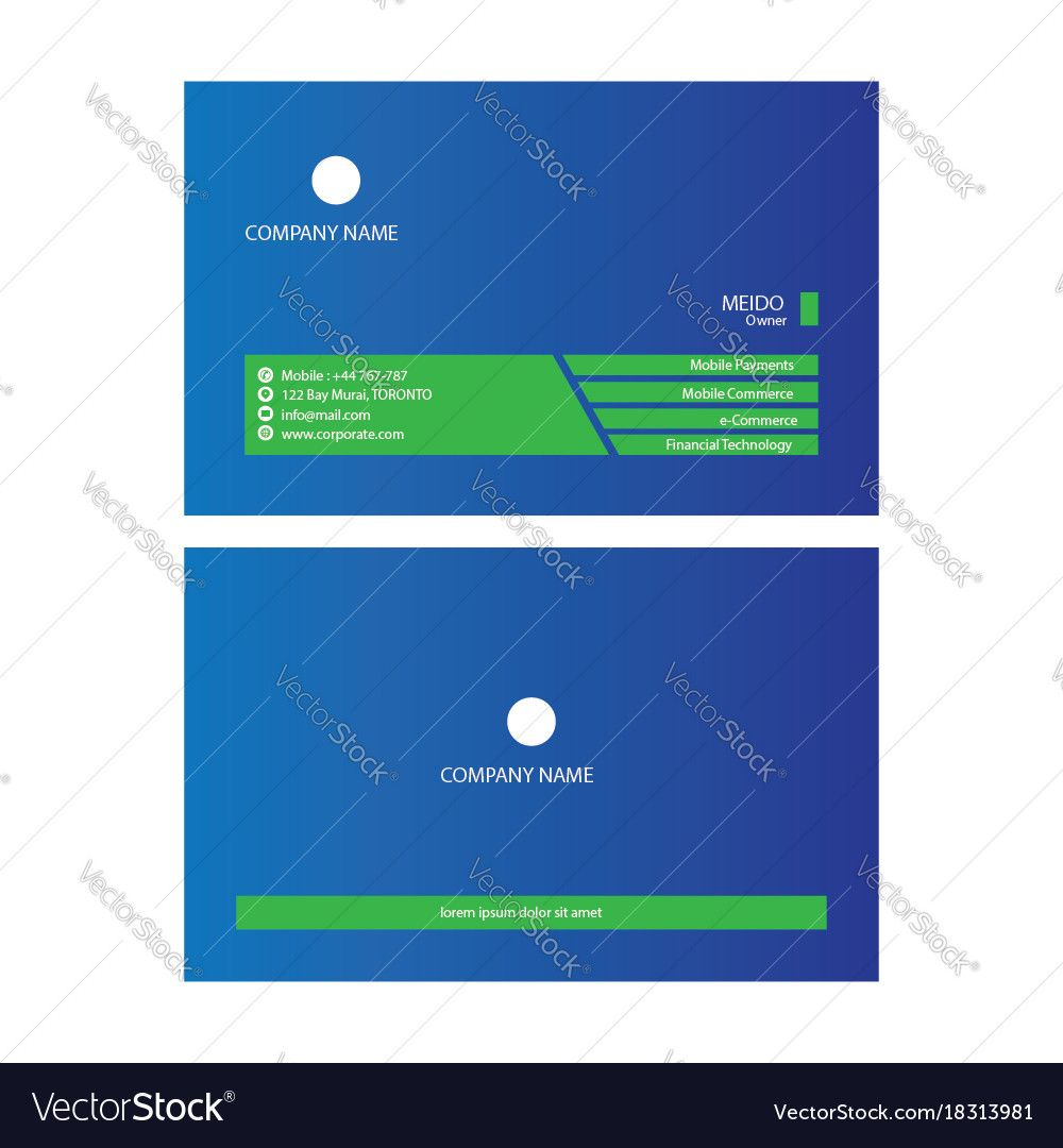corporate business card. Download a Free Preview or High Quality ...