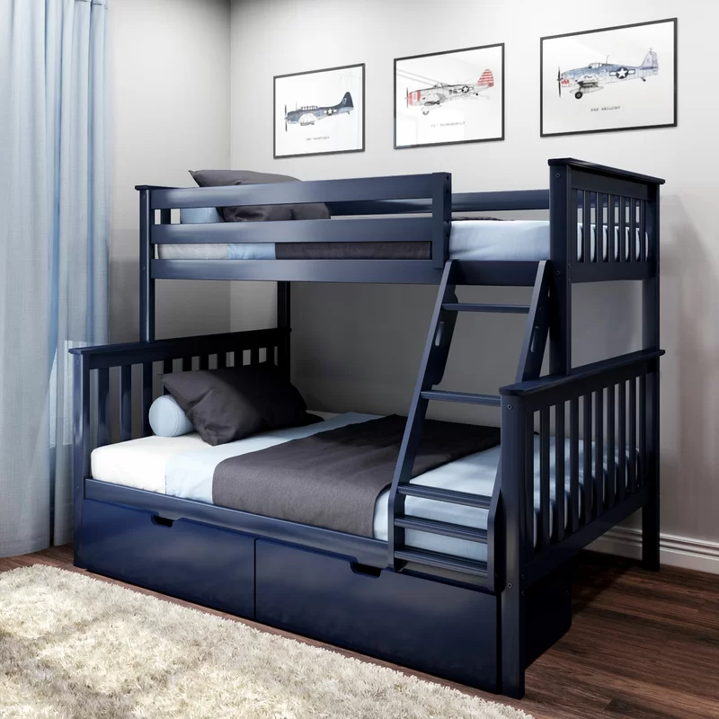 Pin On Bunk Bed With Trundle